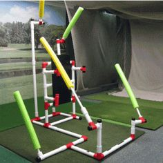 "Silly golf training aid - ""Ultimate Work Station"""