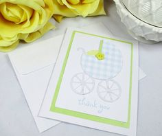 Thank You Cards  Baby Cards  Baby Shower by ImagineandInspire, $20.00