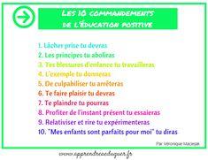 Les 10 commandements de l'éducation positive                              …
