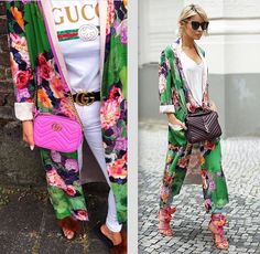 ZARA FLORAL PRINTED LONG KIMONO KAFTAN JACKET Long kimono with open V-neck and long sleeves. Long, floral print kimono with long sleeves, pocket detail on the chest, patch pockets and matching belt. | eBay!