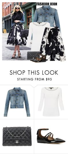 """""""Spring is just around the corner"""" by danniss ❤ liked on Polyvore featuring Yves Saint Laurent, Weekend Max Mara, Chanel and Tabitha Simmons"""