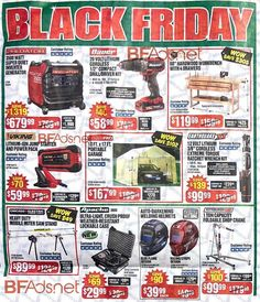 Harbor Freight Black Friday 2018 Ad Scan, Deals and Sales Harbor Freight Black Friday The Harbor Freight Black Friday ad is here! Harbor Freight will be closed on Thanksgiving but will. Origin Of Black Friday, Black Friday 2019, Best Black Friday, Black Friday Store Hours, Black Friday Shopping, Rainbow Six Siege Hoodie, Harbor Freight Tools, Face Lines, Cool Things To Buy