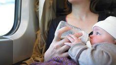 På reise med flaskebarn | mamma