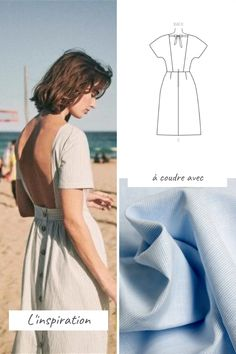Fashion Sewing, Diy Fashion, Couture Sewing, Baby Couture, Diy Blouse, Clothing Patterns, Dress Patterns, Dress Pattern Free, Top Pattern