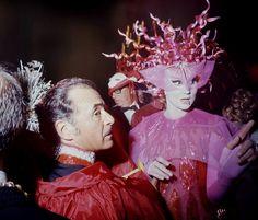 Vicomtesse Jacqueline de Ribes // Venice Ball, Italy, September 1967