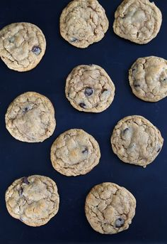 Gluten Free Peanut Butter Oatmeal Chocolate Chip Cookies | Gluten Free on a Shoestring