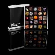 Kollar Chocolates: Some of the most amazing gourmet truffles ever. Fabulous gourmet food gift.