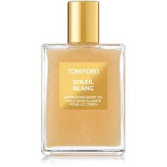 Tom Ford Soleil Blanc Shimmering Body Oil 100ml (€82) ❤ liked on Polyvore featuring beauty products, bath & body products, body moisturizers, body moisturizer, tom ford and body moisturiser