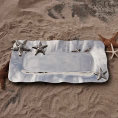 Beatriz Ball Ocean Starfish Long Tray, Large $108