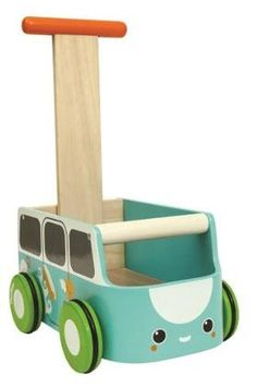 Plan Baby Toys Van Walker- Blue - Free Shipping