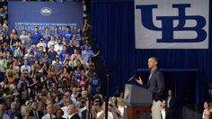 """""""A higher education is the single best investment you can make in your future."""" President Obama, speaking to students at the University of Buffalo during a two-day bus tour to emphasize college affordability on August 22, 2013 College Costs, College Ratings, Education System, Higher Education, Rating System, How To Know, University, Obama, Basketball Court"""