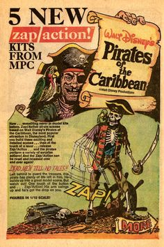 MPC Pirates of the Caribbean Comic Book Ad