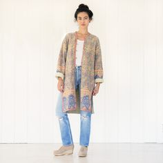 Vintage Quilted Indi