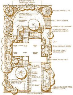 Landscape Design Plans for Amazing Landscaping Landscape Sketch, Landscape Concept, Landscape Drawings, Cool Landscapes, Garden Design Plans, Landscape Design Plans, Landscape Architecture, Landscaping Tools, Plan Sketch