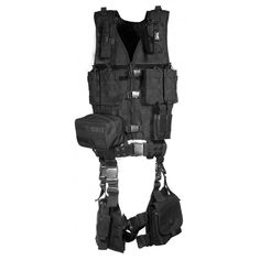 Full vest Ultimate Tactical Gear Airsoft Black