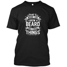 COOL BEARD Womens Clothing T-Shirt Graphic Knit ComfortSoft