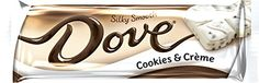 Dove Cookies and Cream Bar, 18 Count