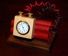 Explosive (fake) clock