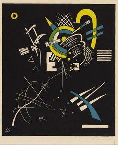 ワシリー・カンディンスキー『小さな世界Ⅶ』(1922) Wassily Kandinsky - Kleine Welten Ⅶ  #抽象主義 #青騎士