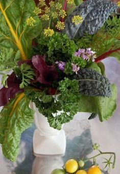 Unique vegetable arrangement