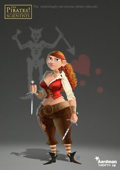 Pirate 3D Character #3D #pirate