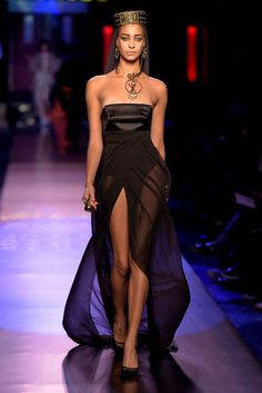 PFW Jean Paul Gaultier Spring 2016 Couture...