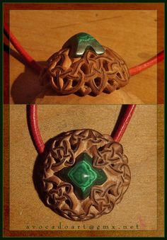 Celtic malachite dome by AvocadoArt on deviantART