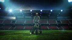 'Line Painter' Euro 2012 Sponsorship, created for Carlsberg