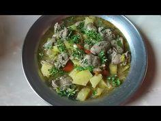 Cartofi cu ficatei o mancare absolut delicioasa si rapida - YouTube Knits, Soup, Ethnic Recipes, Youtube, Breien, Soups, Knit Patterns, Knitting, Crochet