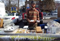 """Get to know our winter market vendors!  @meadowsetfarm is a family farm located in Chester County PA that is a grass-based sheep dairy.  They are offering a nice assortment of sheep's milk cheese and lamb meat at the @wcgrowersmarket this winter.  Stop by on Saturday 2/20/16 to give them a try! #wcgm #westchester #westchesterpa #chestercounty #chestercountypa #chesco #ig_pennsylvania #pennsylvania #knowyourfarmer #familyfarm #locallyraised #locallymade #cheese #lamb #farmtotable #farmtofork…"