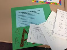 Fractions Day 15--helping students self-assess as they prepare to take an end-of-unit assessment.