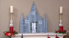 @kennethwingard is adding to your #Christmas décor with his glorious rustic cathedrals!