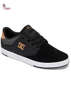 Zapatos Dc Switch Super Suede - Core Skate Collection Negro-Tan (Eu 43 / Us 10 , Negro)