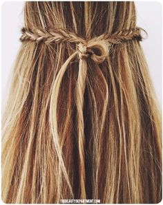 NO-SLIP MINI BRAID KNOT