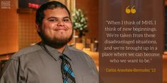 """""""When I think of Milton Hershey School, I think of new beginnings."""""""