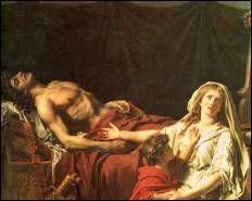Douleur d'Andromaque Jacques-Louis DAVID