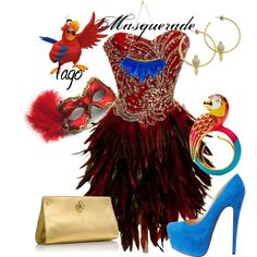 """""""Iago Masquerade"""" by jess-d90 on Polyvore"""