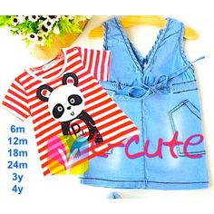 panda bordir set jeans 15662