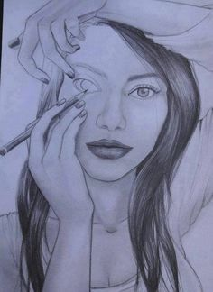 Drawing yourself into existence...