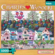 1000 Piece Charles Wysocki Confection Street Jigsaw Puzzle Buffalo Games,http://www.amazon.com/dp/B007F1UP34/ref=cm_sw_r_pi_dp_LFEotb0PXEJEFKAZ