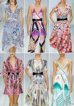 London Catwalk Print & Pattern Highlights - Spring/Summer 2018 Ready-to-Wear