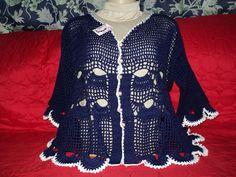 Blusa confeccionada com linha 100% algodão.Feita no Tamanho GG, também podendo ser feita em outros tamanhos e cor desejada.
