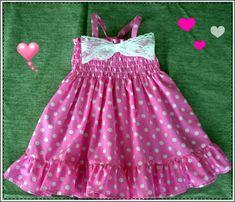 Baby Pink polka dot dress, Pink polka dot baby dress, Pink Birthday dress, Pink-White polka dress for baby, ( Sizes to ) Birthday Dress Women, 1st Birthday Dresses, Girl Birthday, Birthday Cakes, Toddler Girl Dresses, Flower Girl Dresses, Toddler Girls, Dot Dress, Baby Dress