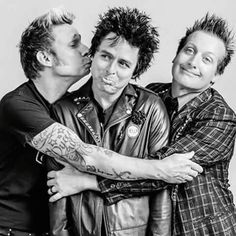 Green Day Billie Joe Armstrong Tré Cool Mike Durnt