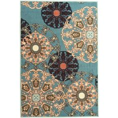 """Ottomanson Ottohome Collection Red Contemporary Damask Design Runner Rug (3'3"""" x 5'0"""") ("""