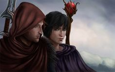 Anders and Hawke by GIVEthemHORNS.deviantart.com on @deviantART
