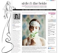 Enchanted Atelier by Liv Hart and Enchanted Atelier for Sophie Hallette featured in Style & the Bride