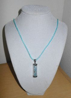 Color me Blue/Genuine aquamarine chips in by CreationsbyMaryEllen, $9.99