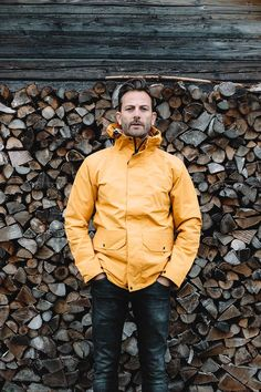 The Litus Waterproof Jacket by Finisterre.  Available at The Revive Club.