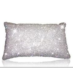 pillow with crystals from Swarovski Bling Bling, Razzle Dazzle, Sparkles Glitter, Everything Pink, Glitz And Glam, All That Glitters, Diamond Are A Girls Best Friend, My Favorite Color, Crystal Jewelry
